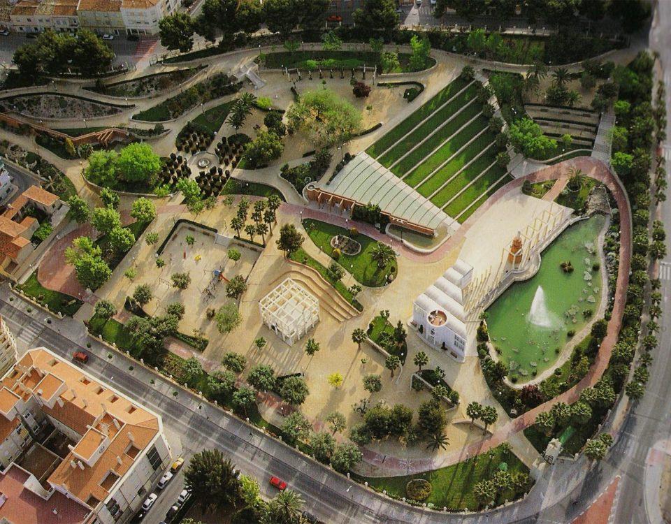 Construcción Parque Municipal 9 d' Octubre Petrer (Alicante)